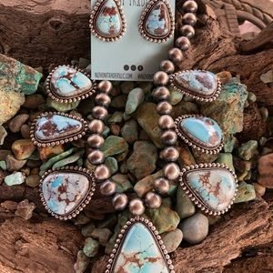 Bea Tom Golden Hill Turquoise Set